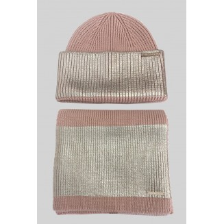 Комплект (шапка+шарф) Trussardi Jeans 59Y00009-9Y099999-P010 Nude